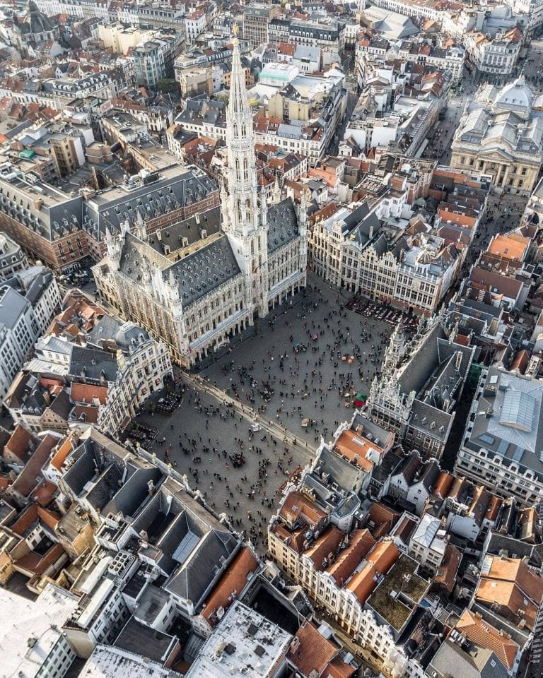 Grand-Place in Brussels - Credits ©apertoura