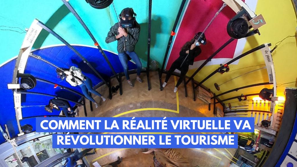 Comment la réalité virtuelle va révolutionner le tourisme - Imagine Belgium