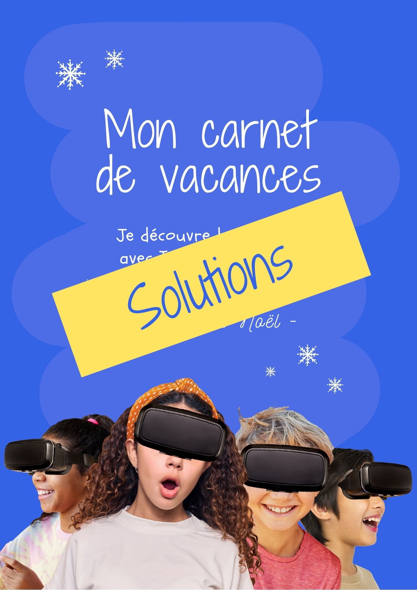 cover solution holiday book Christmas French