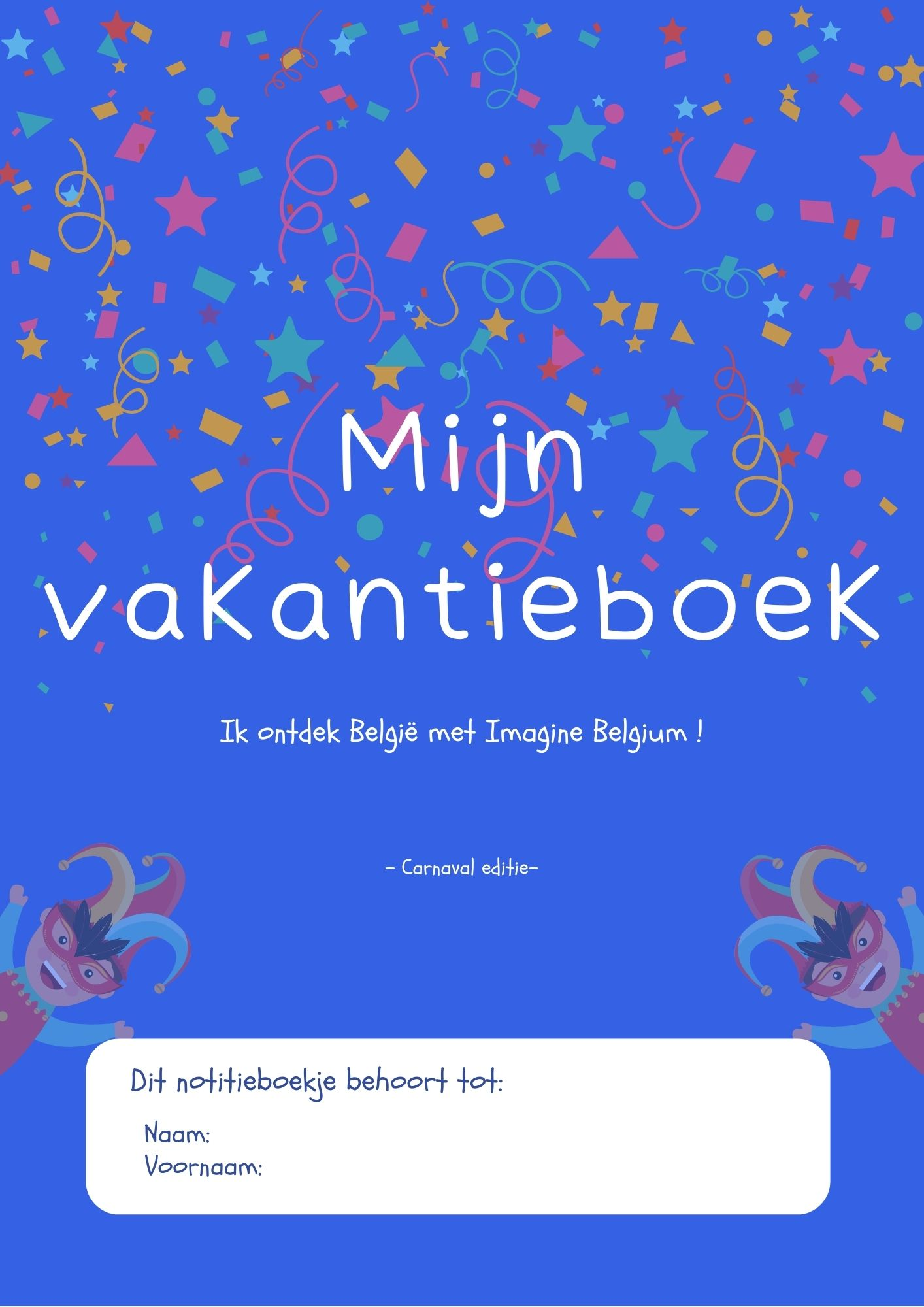 cover carnival book dutch