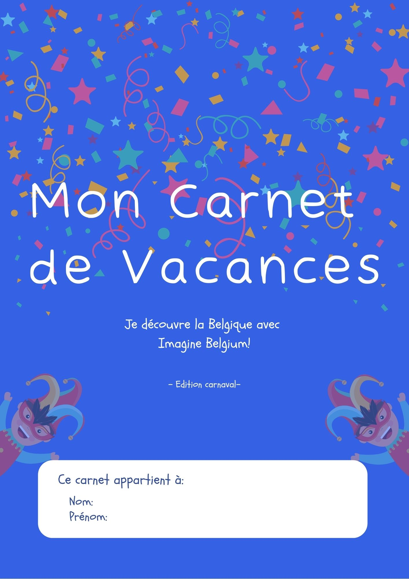 cover carnival book French