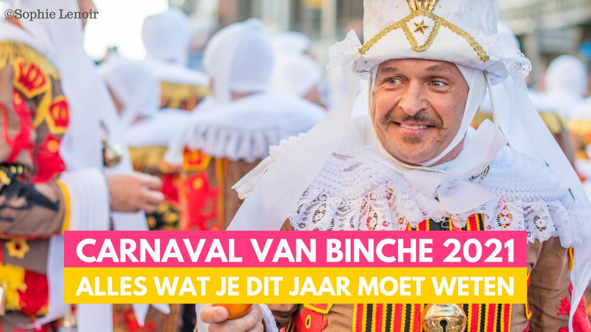 Carnaval van Binche - ©️Sophie Lenoir