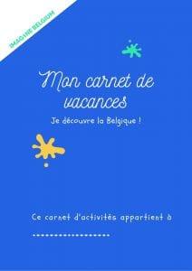 carnet de vacances automne français